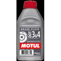 MOTUL DOT 3 & 4 Тормозная жидкость