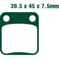 Тормозные колодки Nissin 2P-206