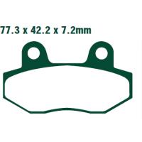 Тормозные колодки Nissin 2P-205