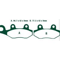 Тормозные колодки Nissin 2P-208