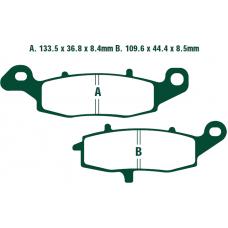 Тормозные колодки Nissin 2P-257