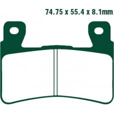 Тормозные колодки Nissin 2P-245