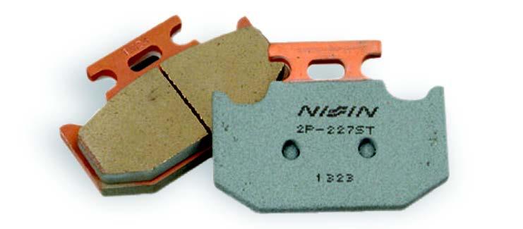 Тормозные колодки для мотоциклов Nissin